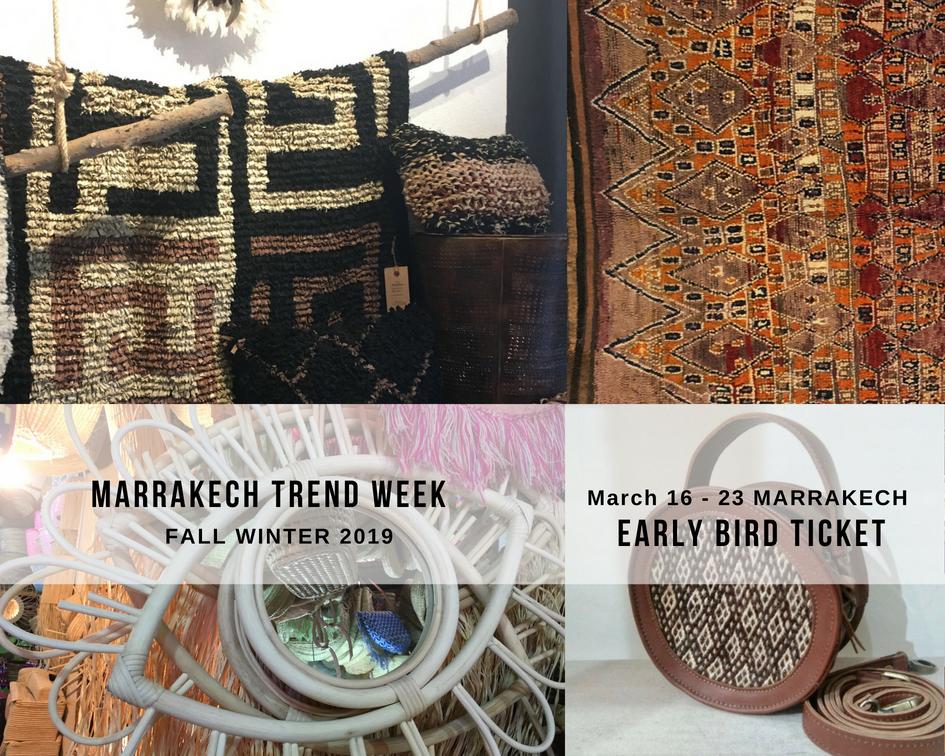 Marrakech Trend Week, trends, shopping, wholesale