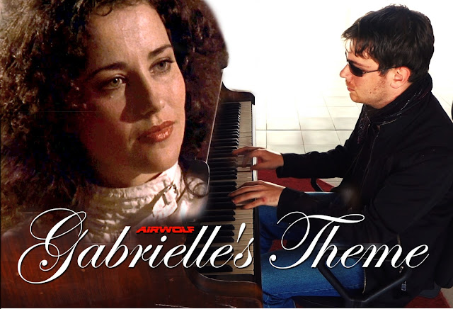 """Gabrielle's Theme"" composed by Sylvester Levay for 'Airwolf', and played live by Jan Michal Szulew"