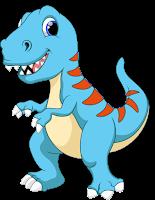 gambar dinosaurus lucu