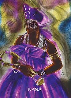 Dia das Mães - Iabás: Iemanjá, Iansã, Oxum, Nanã 4
