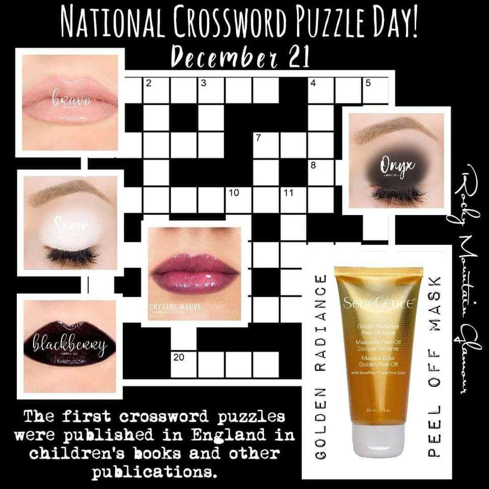 National Crossword Puzzle Day Wishes Sweet Images