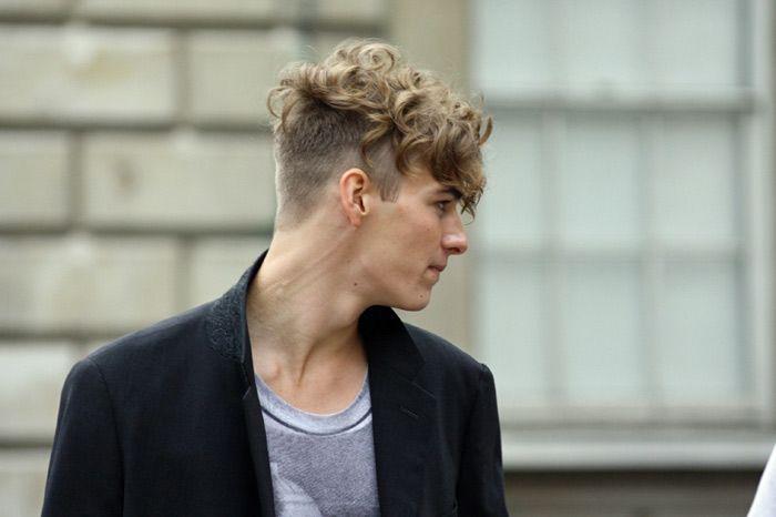 Undercut no cabelo de homem