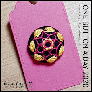 Day 238 : Sol - One Button a Day 2020 by Gina Barrett