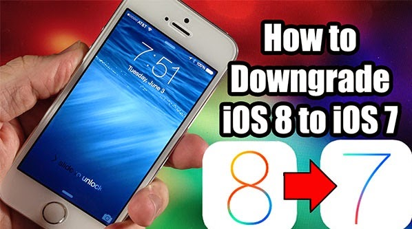 downgrade ios8 to ios7