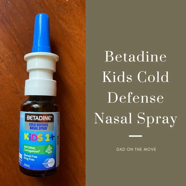 Betadine Kids Cold Defense Nasal Spray review home essential