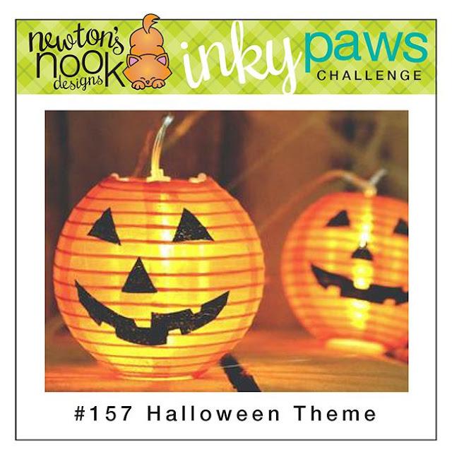Newton's Nook Designs Inky Paws Challenge - Halloween Theme