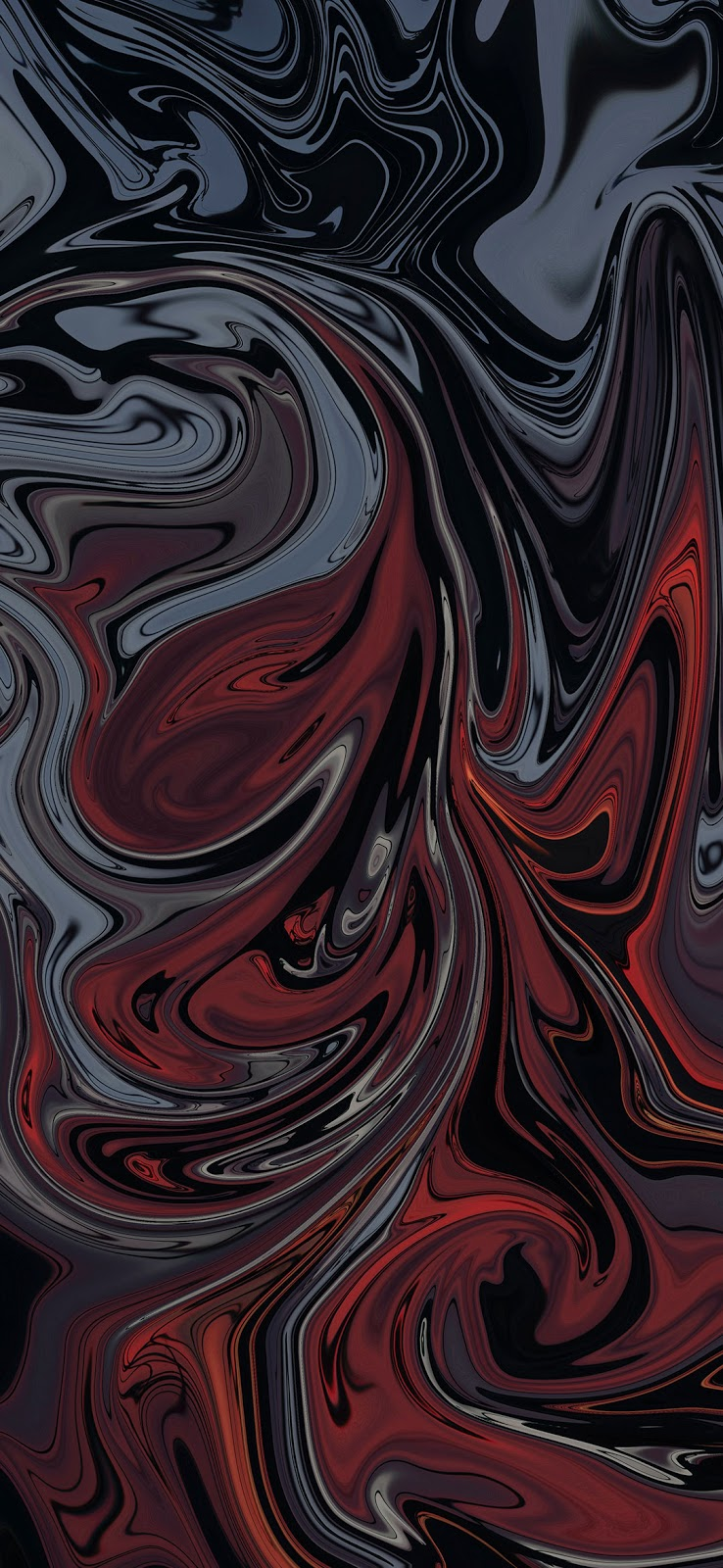 cool dark gray and dark red painting wallpaper