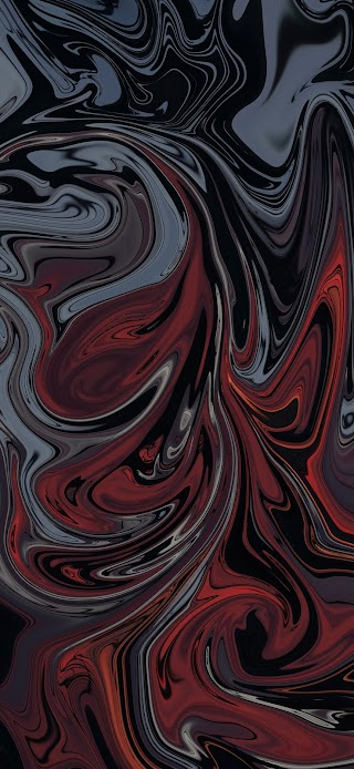 Cool dark gray and dark red abstract painting wallpaper