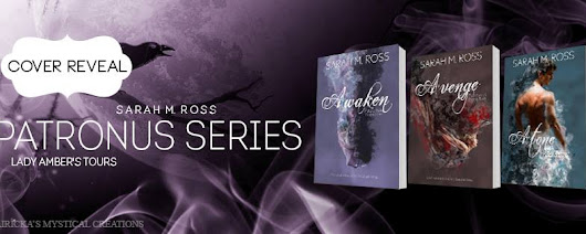 Cover Reveal Patronus Series by Sarah M. Ross #FreeBook