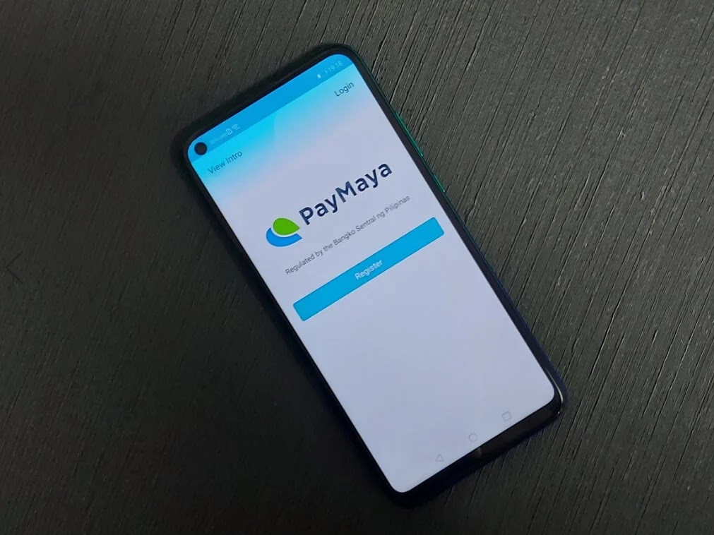 PayMaya App on Huawei Y7p
