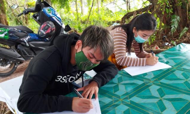 Sepasang Mahasiswa Ini Berdoa pada Yesus, Minta Diturunkan Bencana Alam di Palangka Raya