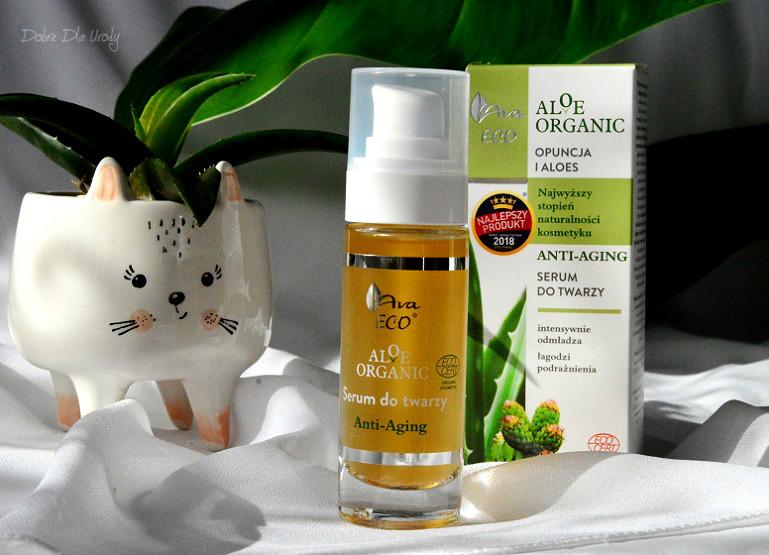 Aloe Organic - Aloesowe Serum do twarzy anti-aging
