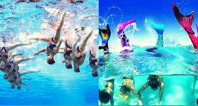 Ιπτάμενοι Αργολίδας: Συγχρονισμένη κολύμβηση με ουρά γοργόνας  στο Άργος