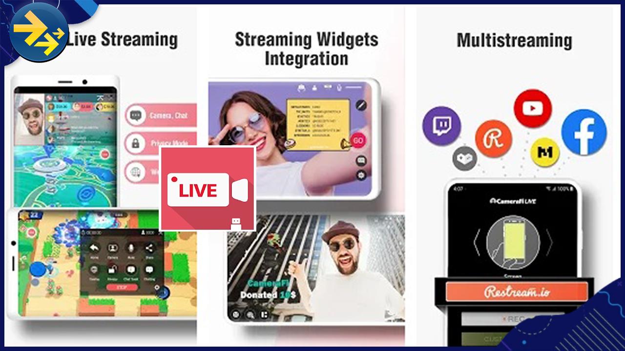 gravador aplicativo live