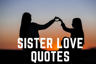 Best Sister Love Quotes and Status | I Love my Sister Quotes and Captions