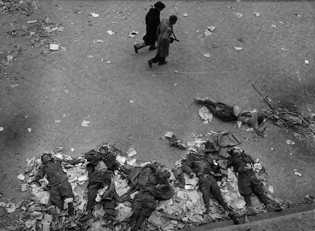 Insurrezione di Budapest uccisione soldati sovietici