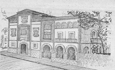 Dibujo del Casino Prado Suburense