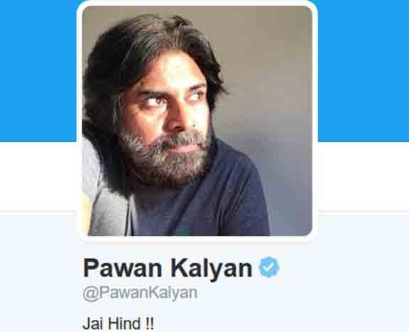 Pawan Kalyan Twitter DP Pic Change