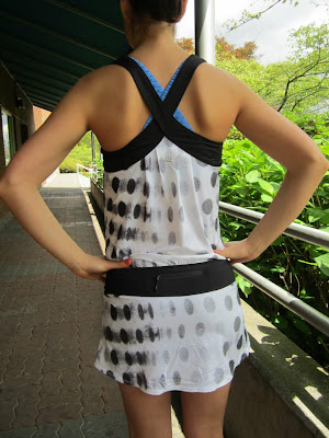 Lululemon Addict New Tie And Fly Singlet Run Top