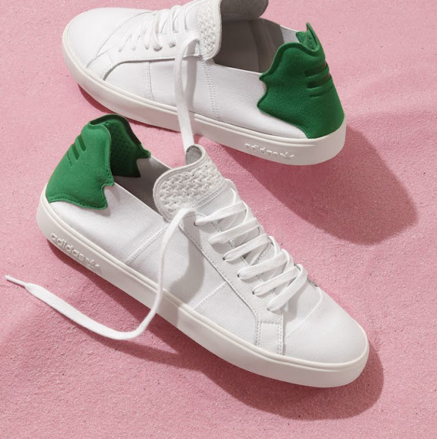 Pharrell Williams adidas Originals pink beach elastic