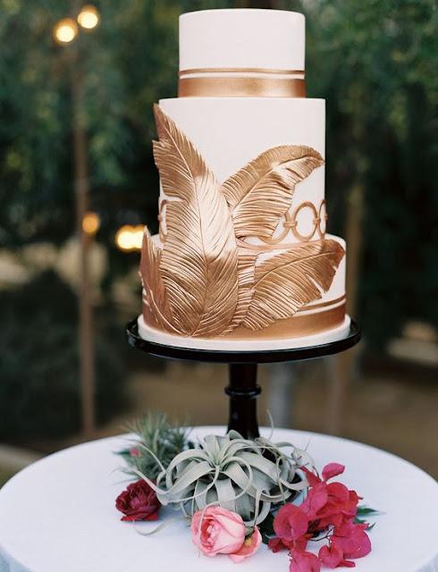 pastel bodas tropical