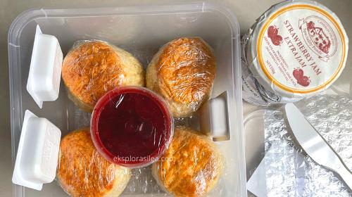 fresh bakes scones Cameron Highlands
