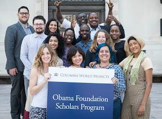 Obama Foundation Scholars Program 2021 at Columbia University