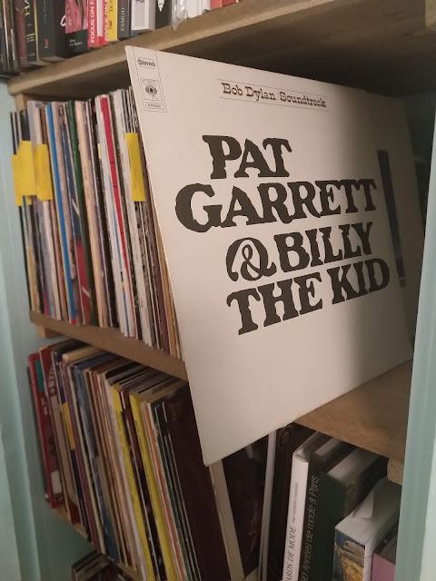 "vinyle de la musique du film ""Pat Garrette & Billy the Kids"" ,""Knockin' on Heaven's Door"" de Bob Dylan"