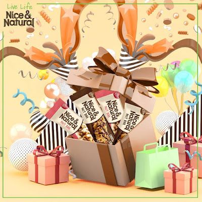 Kuis Instagram Berhadiah 5 Box Nice & Natural Nut Bar