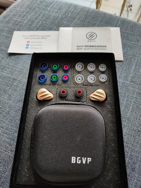 BGVP NS9 可換調音管2動圈7動鐵高音質 圈鐵入耳式機 - 5
