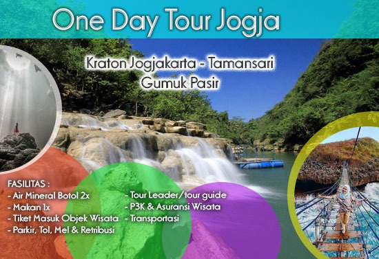 One Day Tour Jogja Full Fasilitas