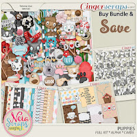 Kit : Puppies Bundle by Neia Scraps