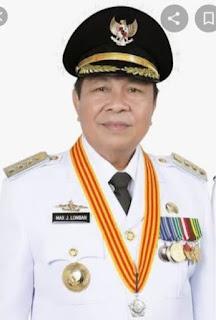 Walikota Bitung : Pemkot  Lakukan Pencegahan Virus Corona  Melalui Penyemprotan Sejumlah Tempat