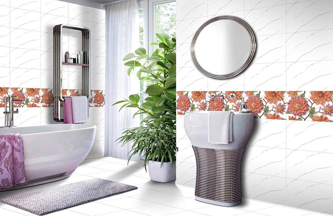 White-bathroom-floor-tile