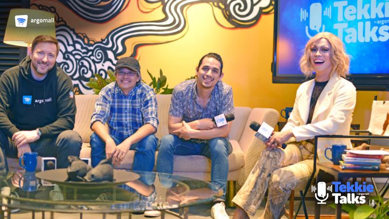 Argomall premiers pilot episode of Tekkie Talks