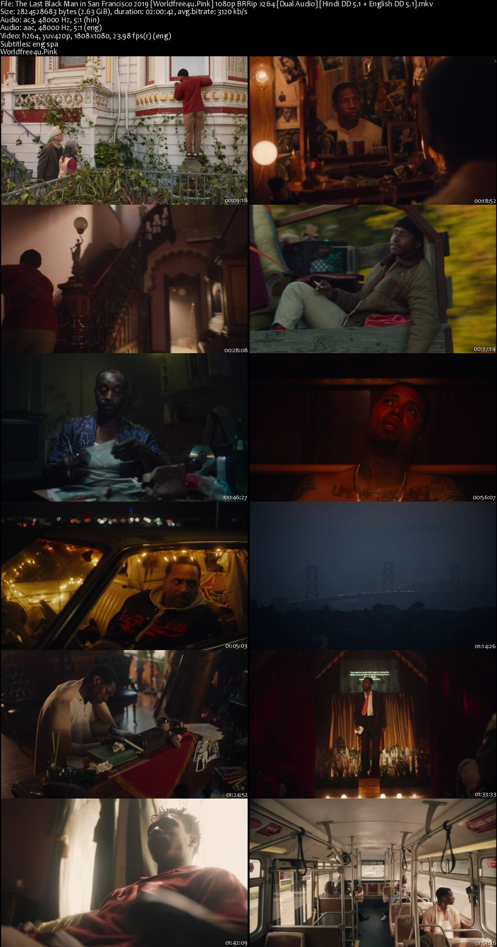 The Last Black Man in San Francisco 2019 BRRip 1080p Dual Audio
