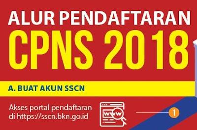 Inilah Alur Pendaftaran Tes CPNS 2018 Oleh Panselnas