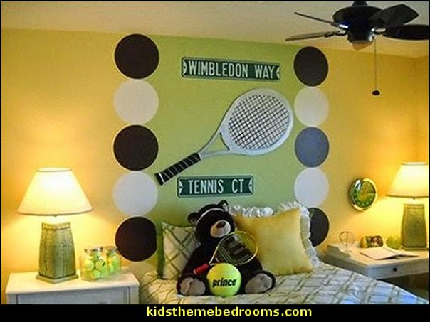 tennis bedroom ideas Tennis Theme Bedroom Decorating ideas-Tennis Room