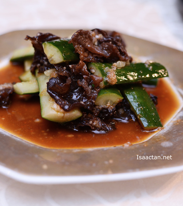 Black Fungus & Cucumber in Special Dressing