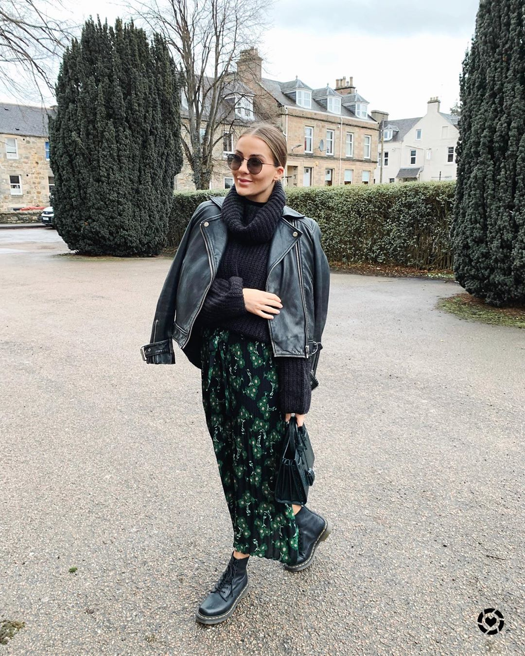 The Cool Girl Way to Wear Florals