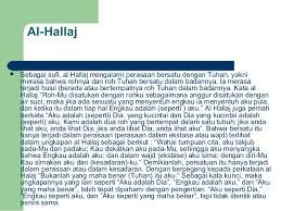 Pemikiran Tasawuf Al-Hallaj