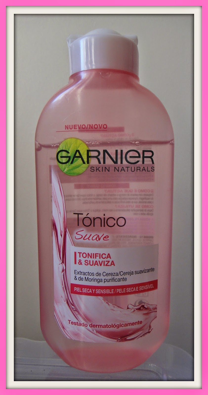 3b2fc04939a7ea Review: Tónico Suave Garnier - Must Be...Pink!