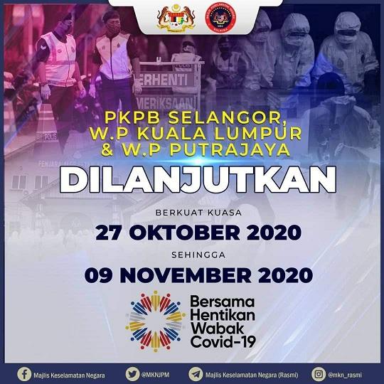 PKPB Bersambung Lagi KL Selangor Putrajaya