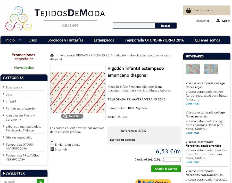 TEJIDOS DE MODA
