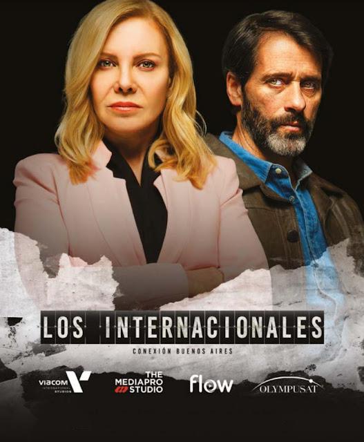 poster serie los internacionales