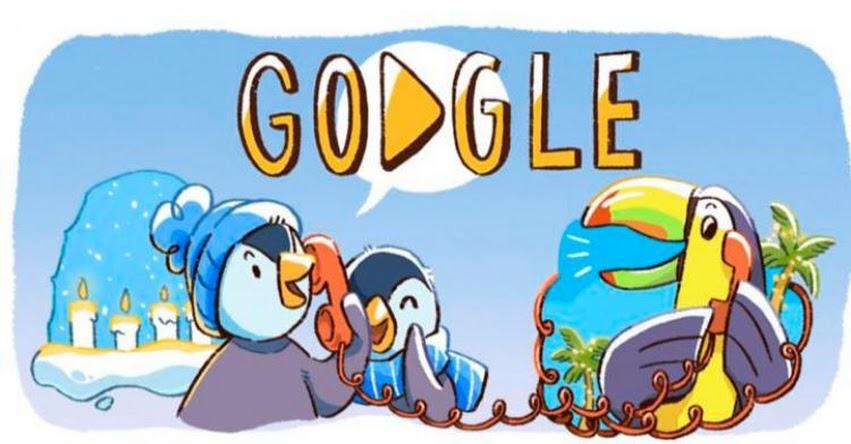 Google marca la cuenta regresiva para celebrar la Navidad 2017