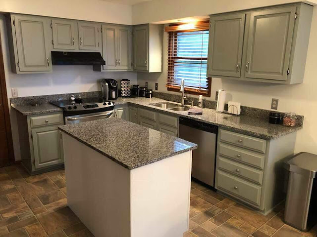 Kitchen Cabinet Refinishing16