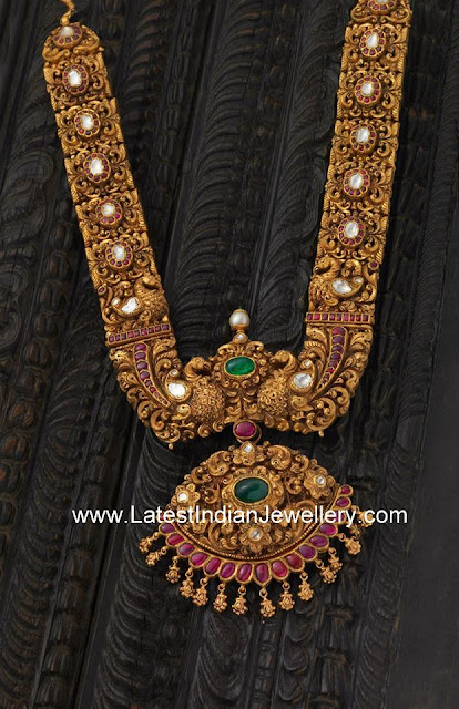 Antique Gold Royal Haaram