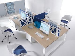 Những kiểu bố trí chỗ ngồi phòng làm việc thuận phong thủy