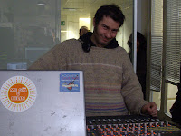 Gian Luca Cavallini tecnico del suono sound engineer